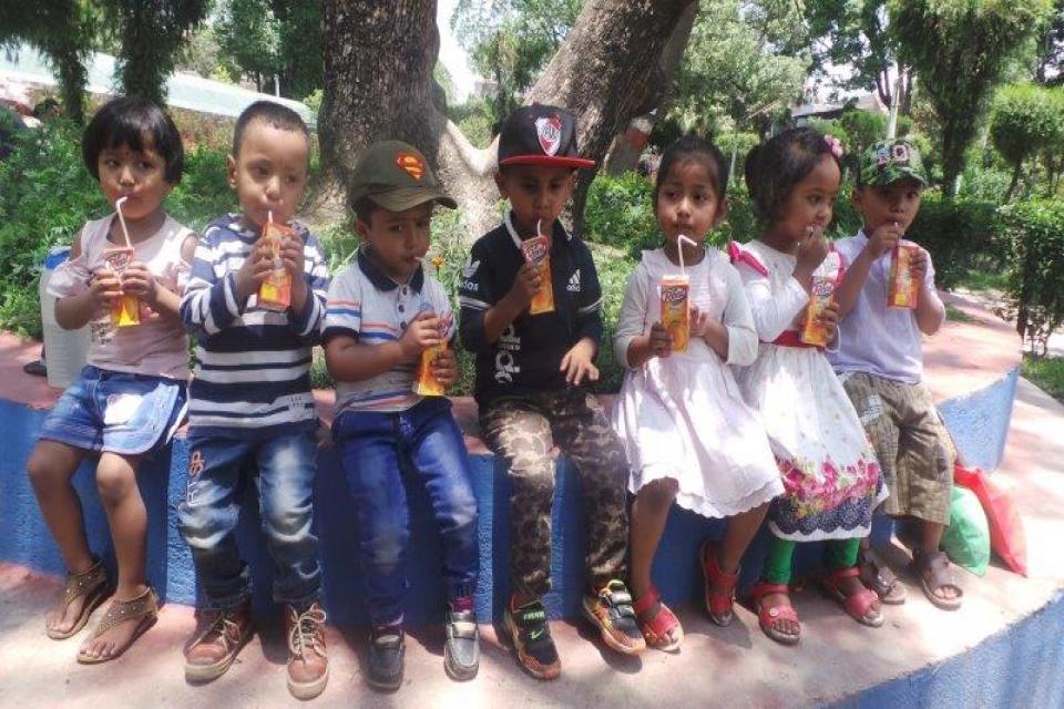 Montessori Students Visit to Botanical Garden