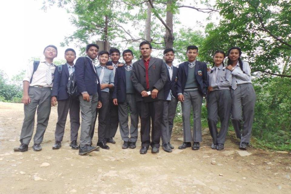 Panauti Hydropower Station  Visit for Grade X Students -2075