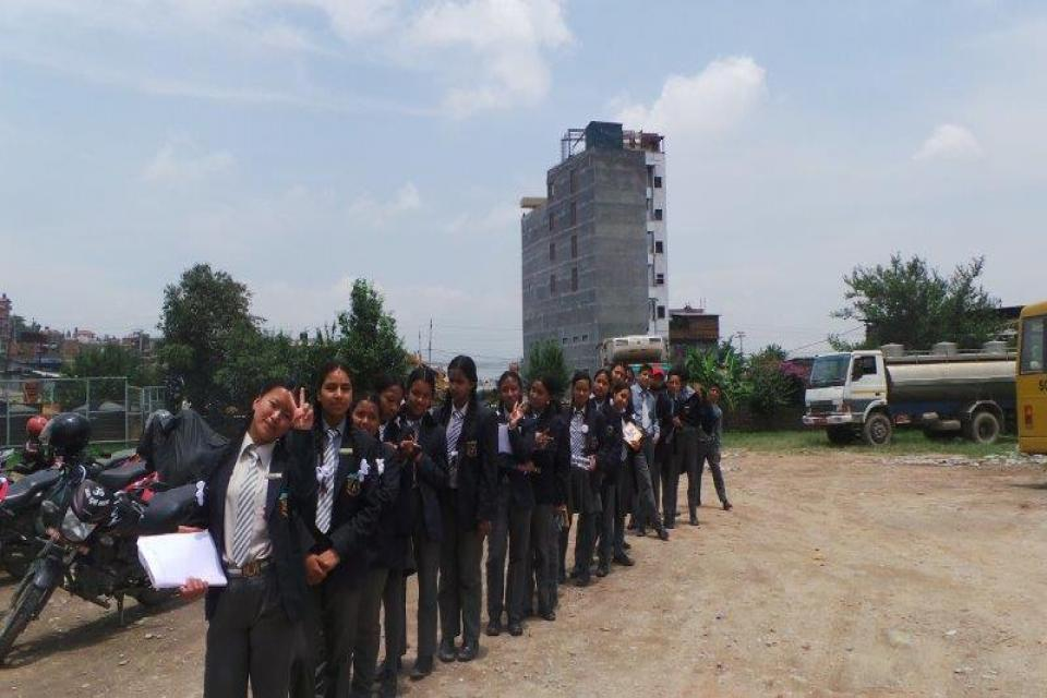 Dairy Factory Visit for Grade  IX students -2075