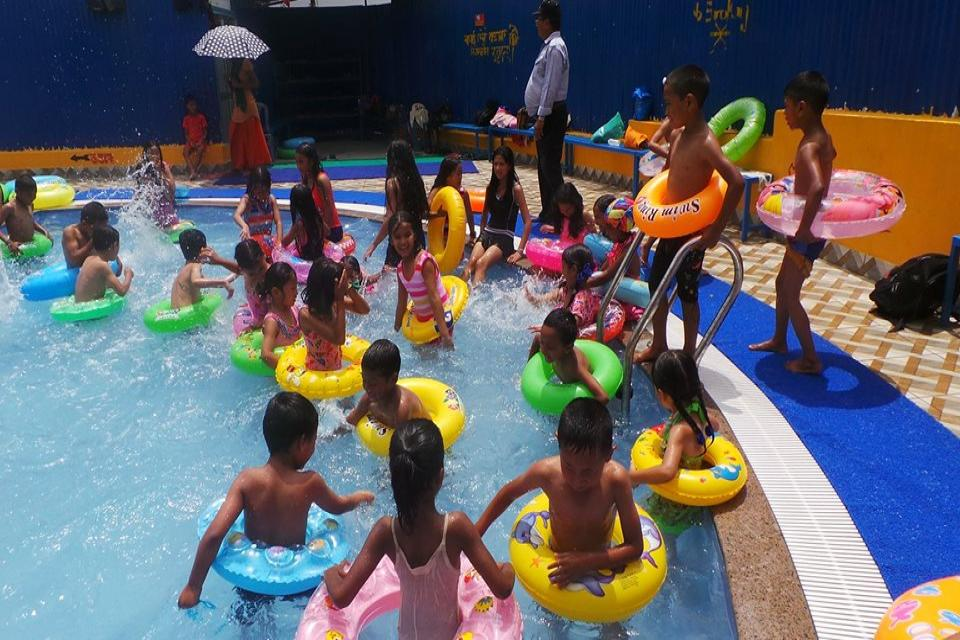 Students Swimming Practice Session-2075