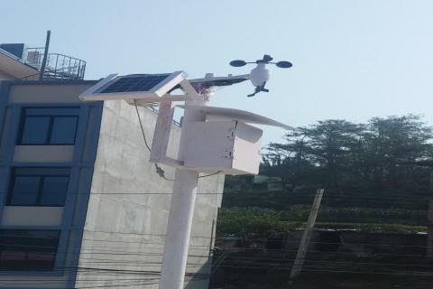 Weather Monitoring Station  Established at North Valley School