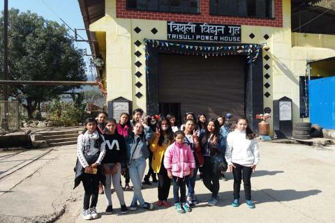 Excursion to Trishuli Hydropower